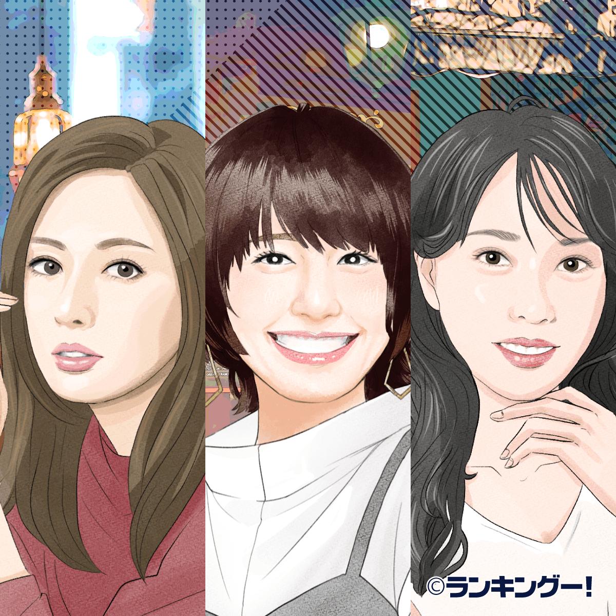 2019年版】30代女優ランキング 人気ベスト30!【6,458名に調査】(20 ...